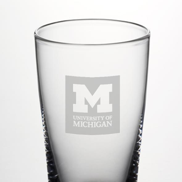 Michigan Pint Glass by Simon Pearce - Image 2