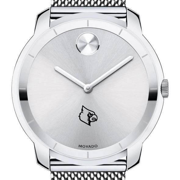 University of Louisville Men's Movado Stainless Bold 44