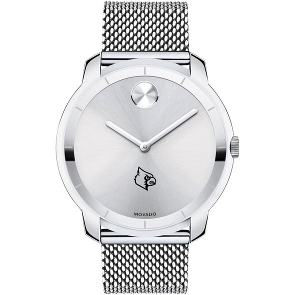 University of Louisville Men's Movado Stainless Bold 44 - Image 2
