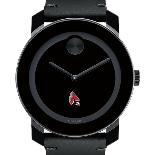 Ball State Men's Movado BOLD with Leather Strap - Image 1