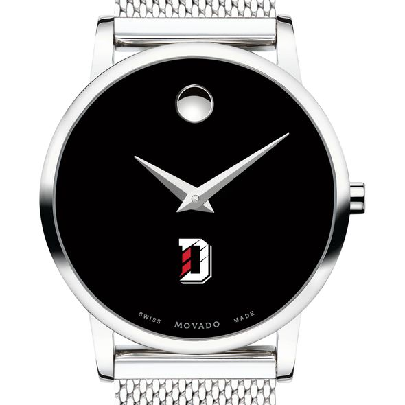 Davidson College Women's Movado Museum with Mesh Bracelet