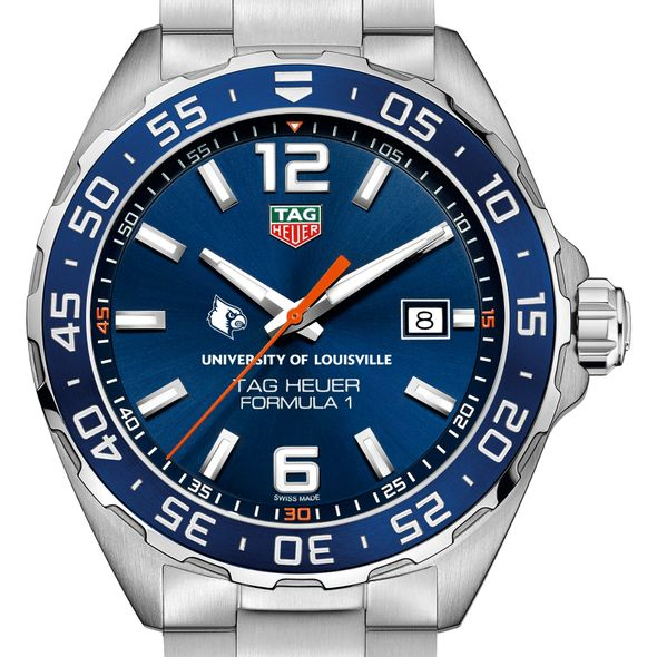 Louisville Men's TAG Heuer Formula 1 with Blue Dial & Bezel