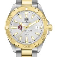 Florida State University Men's TAG Heuer Two-Tone Aquaracer
