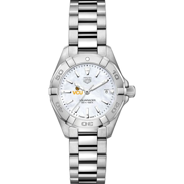 Virginia Commonwealth University Women's TAG Heuer Steel Aquaracer w MOP Dial - Image 2