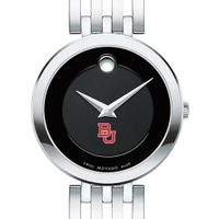 Boston University Women's Movado Esparanza Stainless Steel Museum with Bracelet