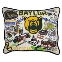 Baylor Embroidered Pillow