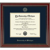 Michigan PhD Diploma Frame, the Fidelitas