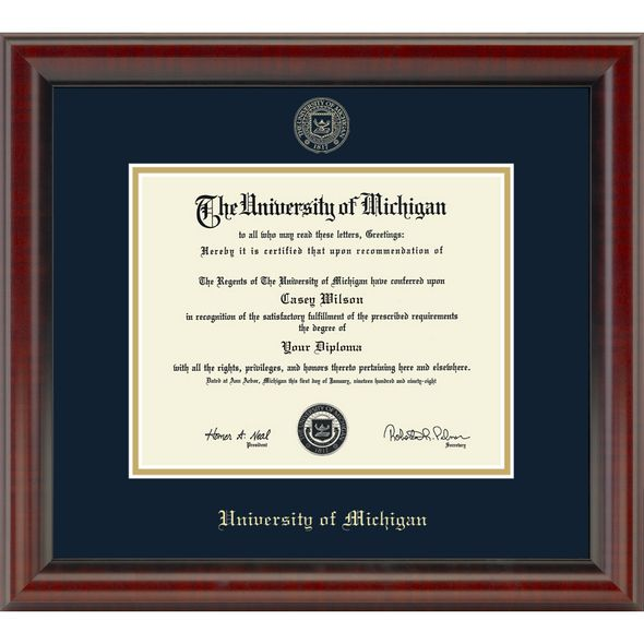 University Of Michigan Picture Frame - Picture Frame Ideas