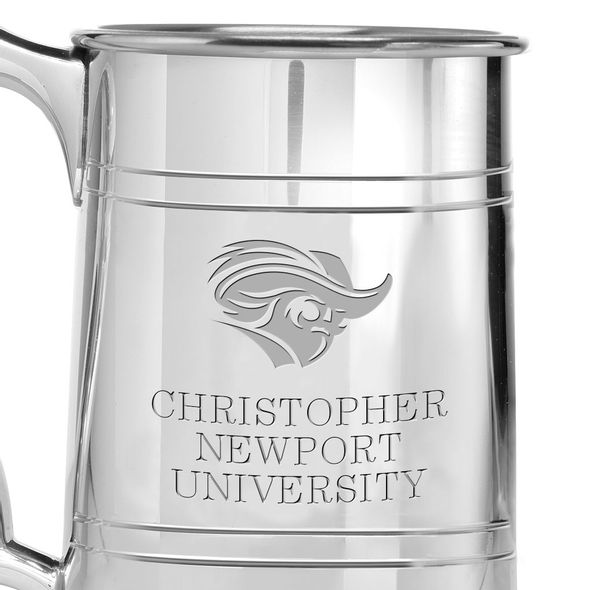 Christopher Newport University Pewter Stein - Image 2