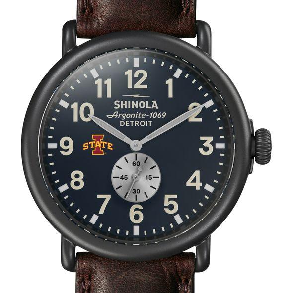 Iowa State Shinola Watch, The Runwell 47mm Midnight Blue Dial