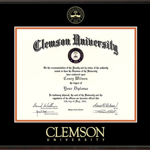 Clemson Diploma Frame, the Fidelitas - Image 2