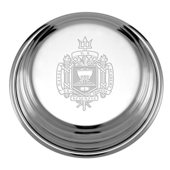 Naval Academy Pewter Paperweight