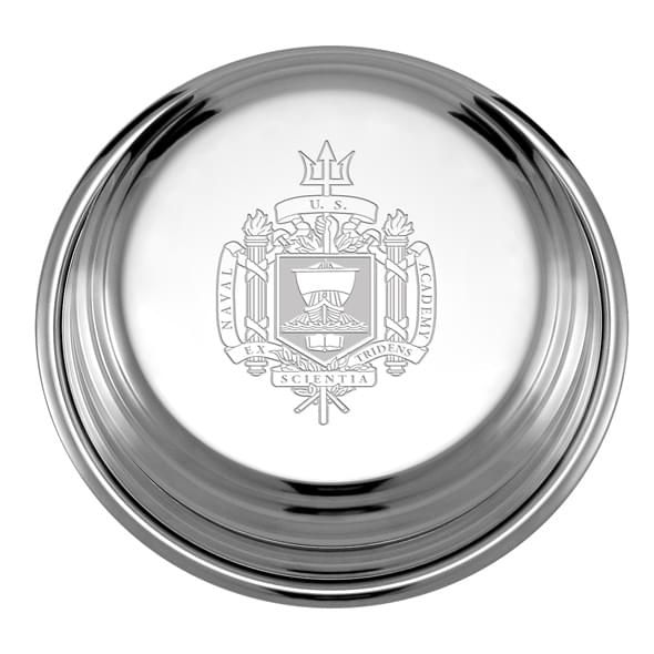 Naval Academy Pewter Paperweight - Image 2