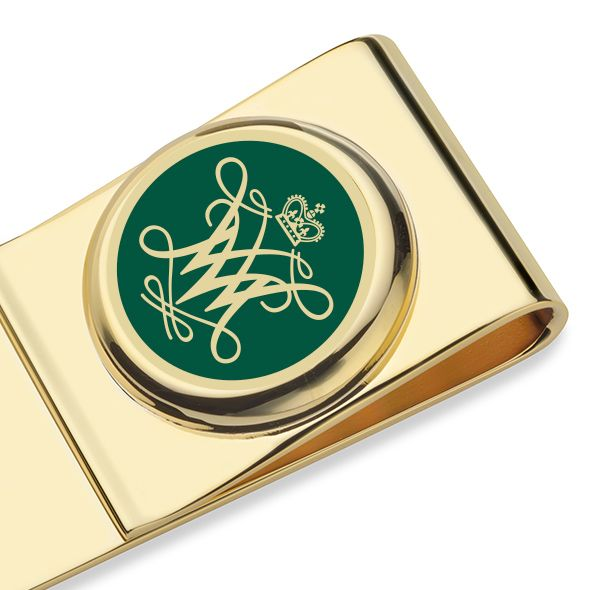 College of William & Mary Enamel Money Clip - Image 2