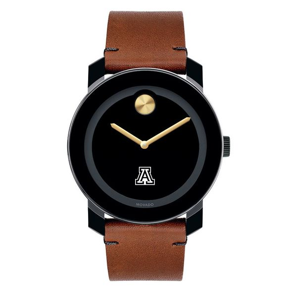 University of Arizona Men's Movado BOLD with Brown Leather Strap - Image 2