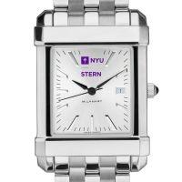 NYU Stern Men's Collegiate Watch w/ Bracelet