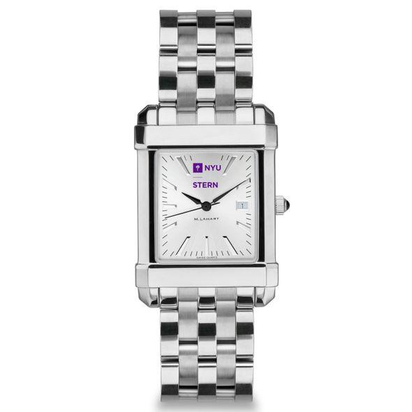 NYU Stern Men's Collegiate Watch w/ Bracelet - Image 2