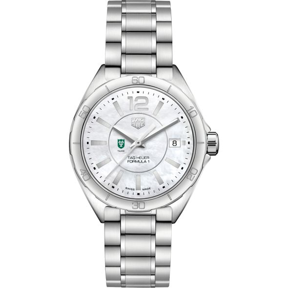 Tulane University Women's TAG Heuer Formula 1 with MOP Dial - Image 2