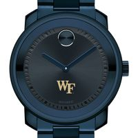 Wake Forest University Men's Movado BOLD Blue Ion with Bracelet