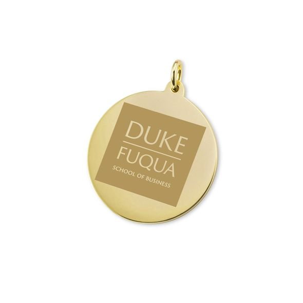 Duke Fuqua 18K Gold Charm