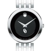 University of Oklahoma Women's Movado Esparanza Stainless Steel Museum with Bracelet