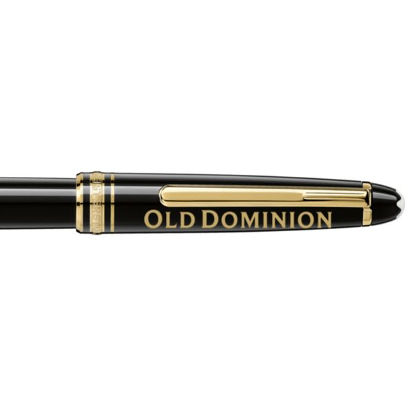 Old Dominion Montblanc Meisterstück Classique Rollerball Pen in Gold - Image 2