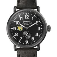 Marquette Shinola Watch, The Runwell 41mm Black Dial