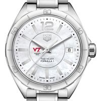 Virginia Tech Women's TAG Heuer Formula 1 with MOP Dial