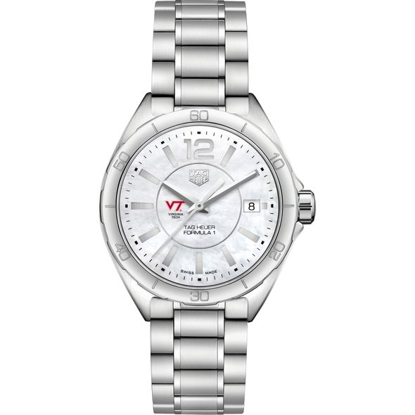 Virginia Tech Women's TAG Heuer Formula 1 with MOP Dial - Image 2
