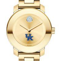 University of Kentucky Women's Movado Gold Bold