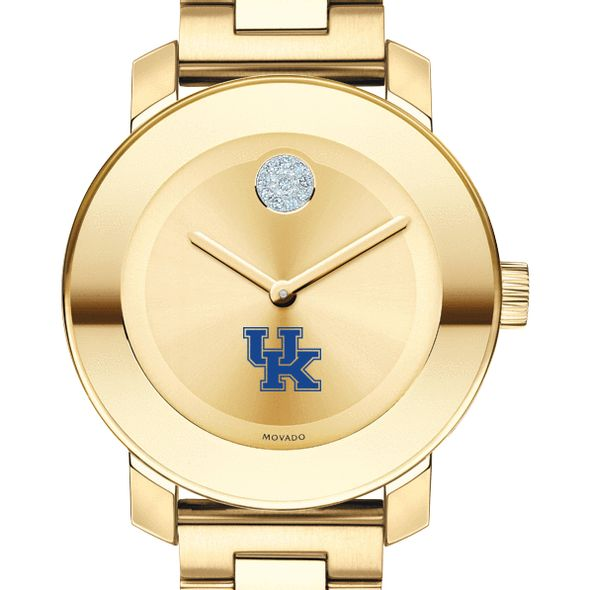 University of Kentucky Women's Movado Gold Bold
