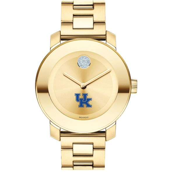 University of Kentucky Women's Movado Gold Bold - Image 2