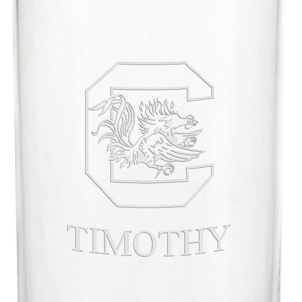 University of South Carolina Iced Beverage Glasses - Set of 4 - Image 3