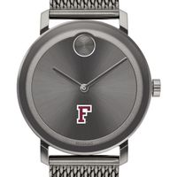 Fordham University Men's Movado BOLD Gunmetal Grey with Mesh Bracelet