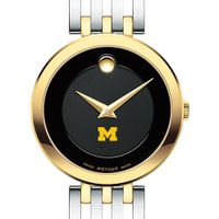 Michigan Women's Movado Esparanza Two-Tone Museum with Bracelet