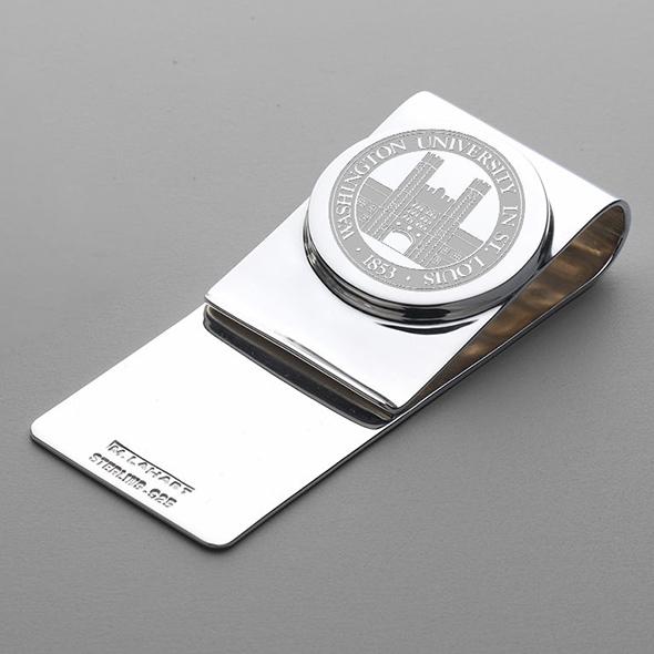 WUSTL Sterling Silver Money Clip