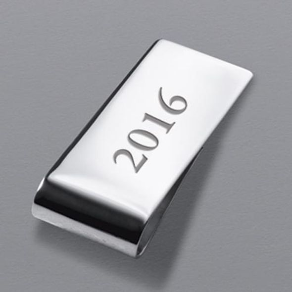 WUSTL Sterling Silver Money Clip - Image 3