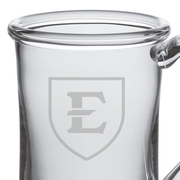East Tennessee State University Glass Tankard by Simon Pearce - Image 2