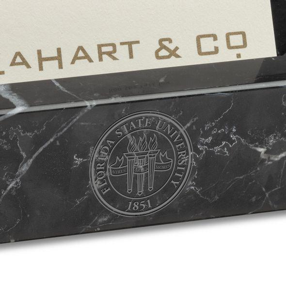 FSU Marble Business Card Holder - Image 2