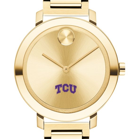 Texas Christian University Women's Movado Gold Bold 34 - Image 1