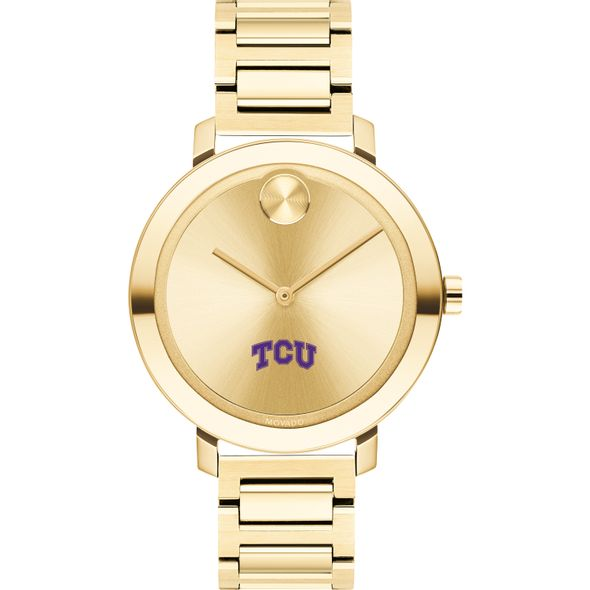 Texas Christian University Women's Movado Gold Bold 34 - Image 2