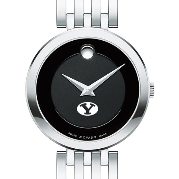 Brigham Young University Women's Movado Esparanza Stainless Steel Museum with Bracelet