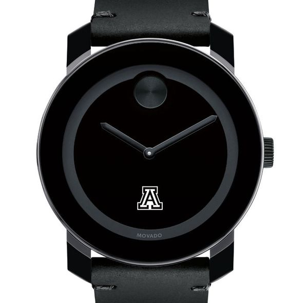 University of Arizona Men's Movado BOLD with Leather Strap