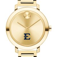 East Tennessee State University Women's Movado Gold Bold 34