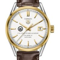 Coast Guard Academy Men's TAG Heuer Two-Tone Carrera with Strap