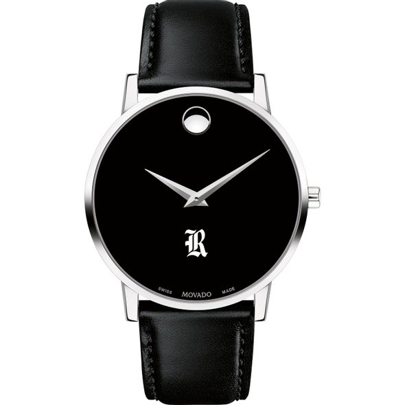 Rice University Men's Movado Museum with Leather Strap - Image 2