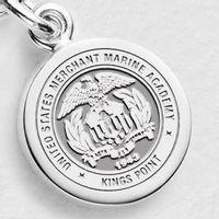 USMMA Sterling Silver Charm