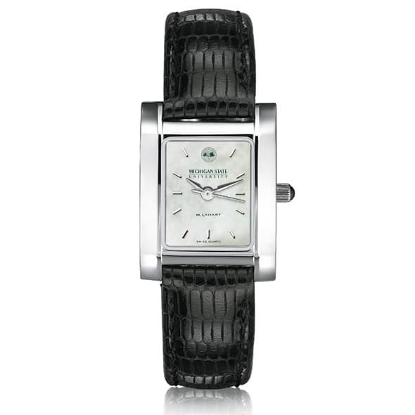 Michigan State Women's MOP Quad with Leather Strap - Image 2