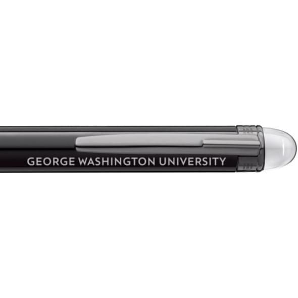 George Washington University Montblanc StarWalker Ballpoint Pen in Ruthenium - Image 2