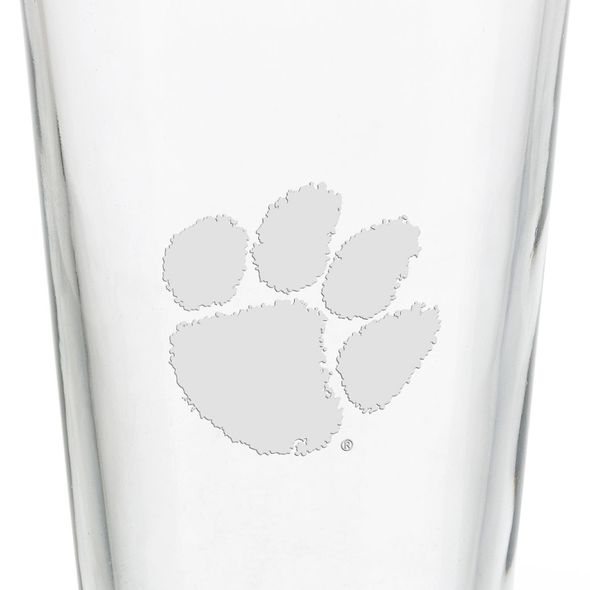 Clemson 16 oz Pint Glass - Image 3